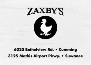 43913 ZAX Suwanee Football Sponsorship Creative copy