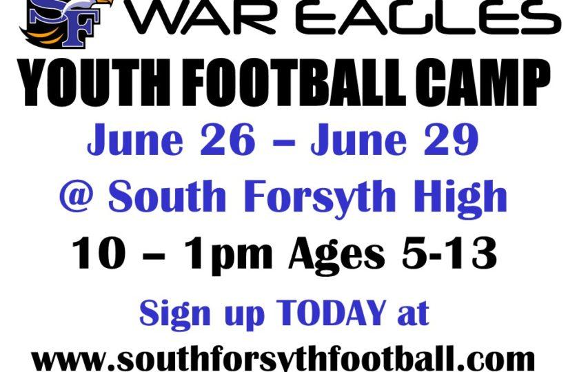War Eagle Youth Football Camp